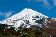 Mount Egmont Royalty Free Stock Photos