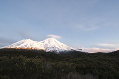 Mount Egmont. Royalty Free Stock Photos