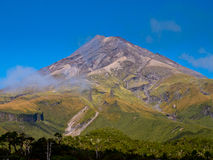 Mount Egmont or Taranaki Volcano, New Zealand Royalty Free Stock Photo