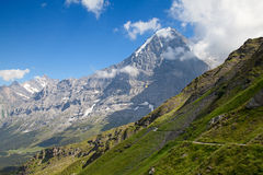 Mount Eiger Stock Image