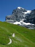mount eiger, Szwajcarii Fotografia Royalty Free