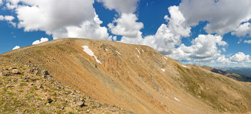 Mount Elbert Panorama Royalty Free Stock Photo