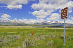 Mount Elbert, Sawatch Range, Colorado Stock Photography