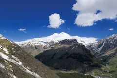 Mount Elbrus Royalty Free Stock Photography