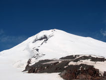 Mount Elbrus volcano Royalty Free Stock Image