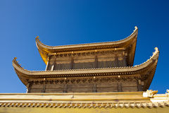Mount Emei Golden Palace Stock Images