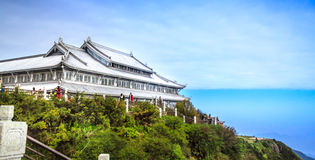 Mount Emei Stock Image