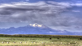 Mount Erciyes in Kayseri HDR Royalty Free Stock Photo