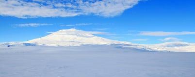 Mount Erebus, Antarctic volcano royalty free stock photos