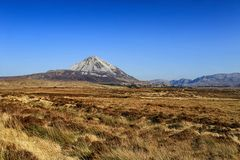 Mount Errigal, Co. Donegal, Ireland Royalty Free Stock Photography
