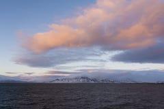 Mount Esja, Reykjavik Iceland Stock Photo