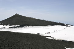 Mount Etna Stock Photo