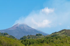Mount Etna royalty free stock photography