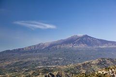 Mount Etna Royalty Free Stock Photos
