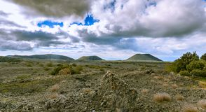Mount Etna hiking royalty free stock images