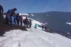 Mount Etna stock photos