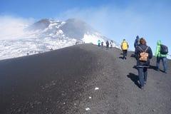 Mount Etna royalty free stock image