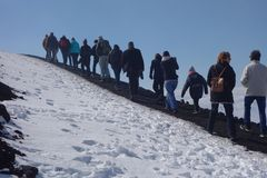 Mount Etna stock images