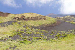 Mount Etna, Italy Royalty Free Stock Photos