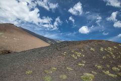 Mount etna scenery Royalty Free Stock Image