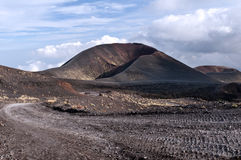 A lateral crater, Mount Etna, Sicily Stock Photography