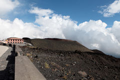 Mount Etna. Sicily. Royalty Free Stock Image