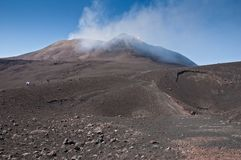 Mount Etna on a summer day Stock Photography