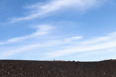 Mount Etna surroundinngs, Sicily. Royalty Free Stock Images