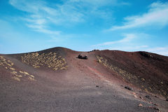 Mount Etna surroundinngs, Sicily. Stock Images
