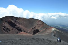 Mount Etna Royalty Free Stock Photo