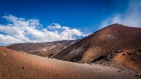 Mount Etna volcano Royalty Free Stock Photography