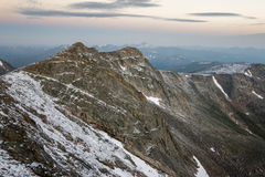 Mount Evans - Colorado. Mount Evans Road is the highest paved road in the United States.  Idaho Springs, Colorado Stock Photos