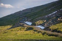 Mount Evans Road. Idaho Springs, Colorado Royalty Free Stock Images