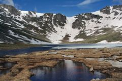 Mount Evans - Scenic Basin Royalty Free Stock Photos