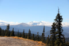 Mount Evans Scenic Byway, Denver Mountains Stock Photography