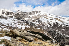 Mount Evans Summit - Colorado Royalty Free Stock Photo