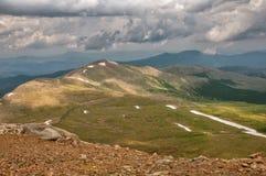 Mount Evans Tundra Stock Image