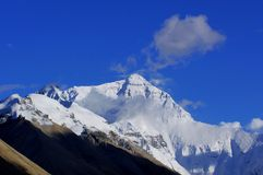 Mount Everest. :The world first peak Royalty Free Stock Image