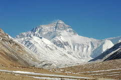 Mount Everest royalty free stock image