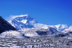 Mount Everest royalty free stock photos