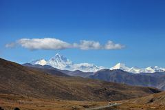 Mount everest Stock Photography