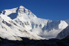 Mount everest. Highest mountain of the world royalty free stock photography