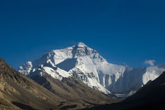 Mount Everest Stockfoto