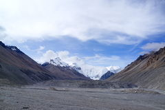 Mount Everest Стоковое Изображение RF