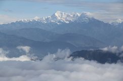 Mount Everest Lizenzfreie Stockfotografie