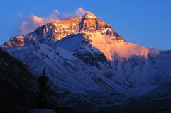 Mount Everest Royalty Free Stock Photo