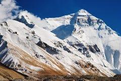 Mount Everest. North Face, base camp stock image