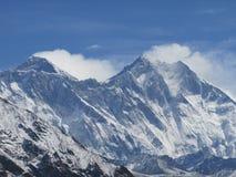Mount Everest-Ansicht Stockfotografie