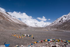 Mount everest base camp Royalty Free Stock Photos