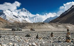 Mount Everest, base camp Stock Photography